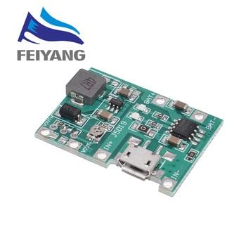 Placa del cargador de batería de Li-ion 18650 3,7 V 4,2 V DC-DC Módulo de aumento TP4056 piezas de Kit DIY