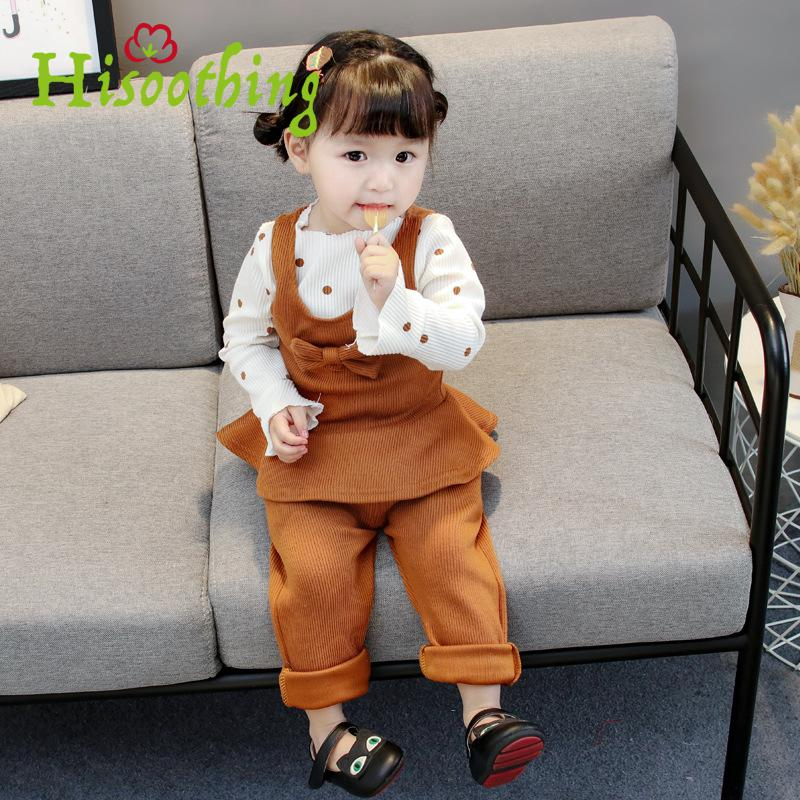 The Fall Of The New Baby Suit For Girls 1-2-3 Years Old Children. Three Pieces Of Cotton new the european ce standards pp plastic baby walkers scooters musical scooter for children 2 years of age or older