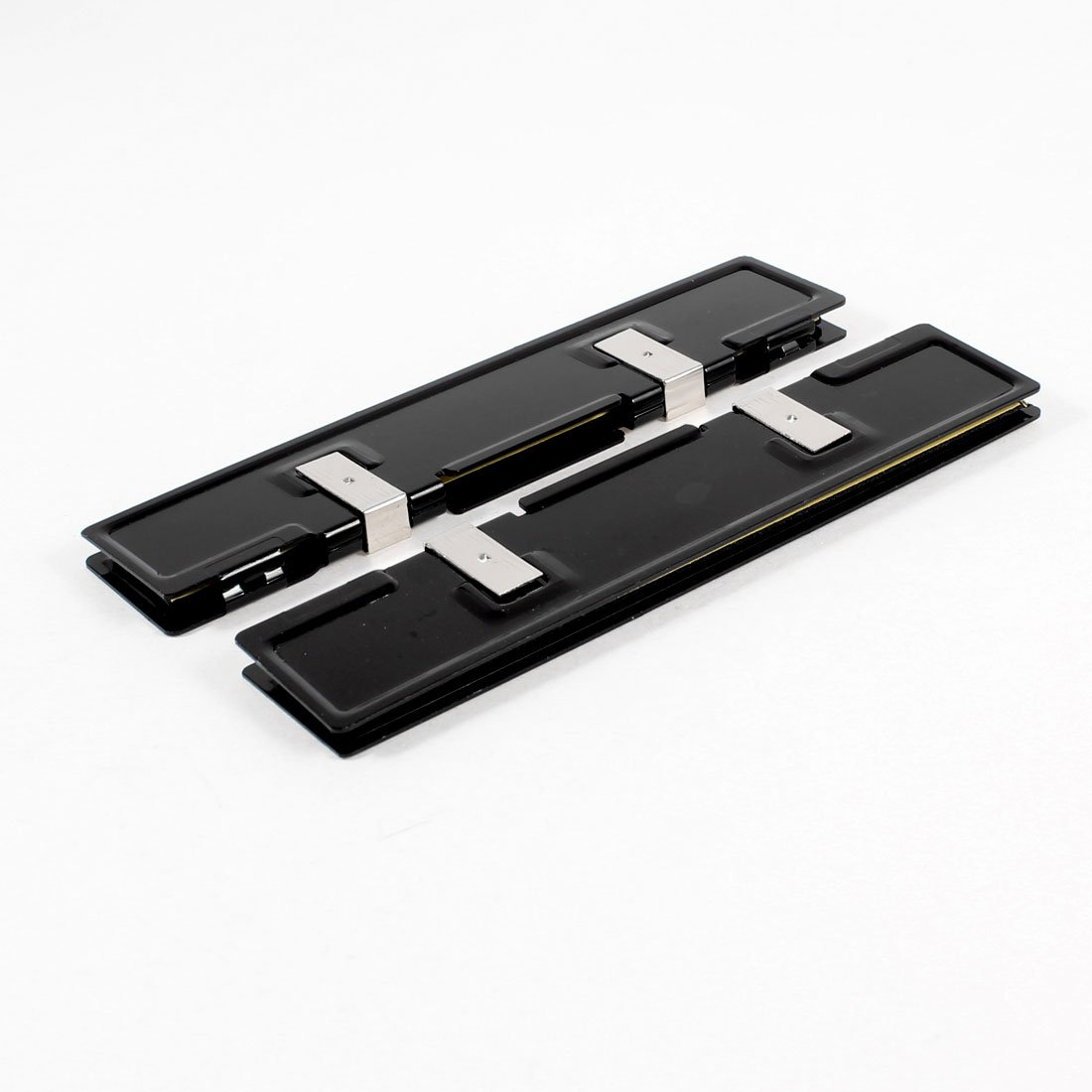 GTFS Hot 2 x Aluminum Heatsink Shim Spreader for DDR RAM Memory 2 x b ddr ddr2 ram memory cooler heat spreader heatsink z09 drop ship