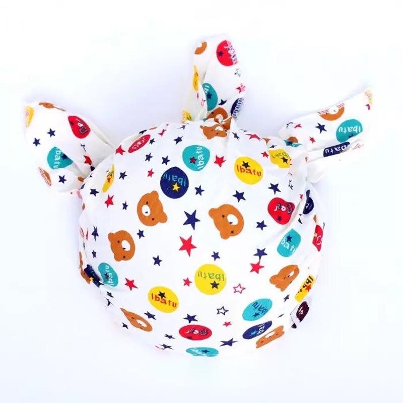 Пиратской Кепки 18 Цвета детская шапка для мальчиков и девочек трикотажные Детские Шапки шапочка Карамельный цвет для маленьких детей шапка...