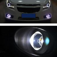Refit Auto Voor Chevrolet Cruze Voorbumper + Fog La + Grille + Angel Eyes