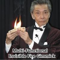 Multi Functional Invisible Fire Gimmick Magic Tricks Fire From Empty Hand Stage Accessories Illusion Props Comedy