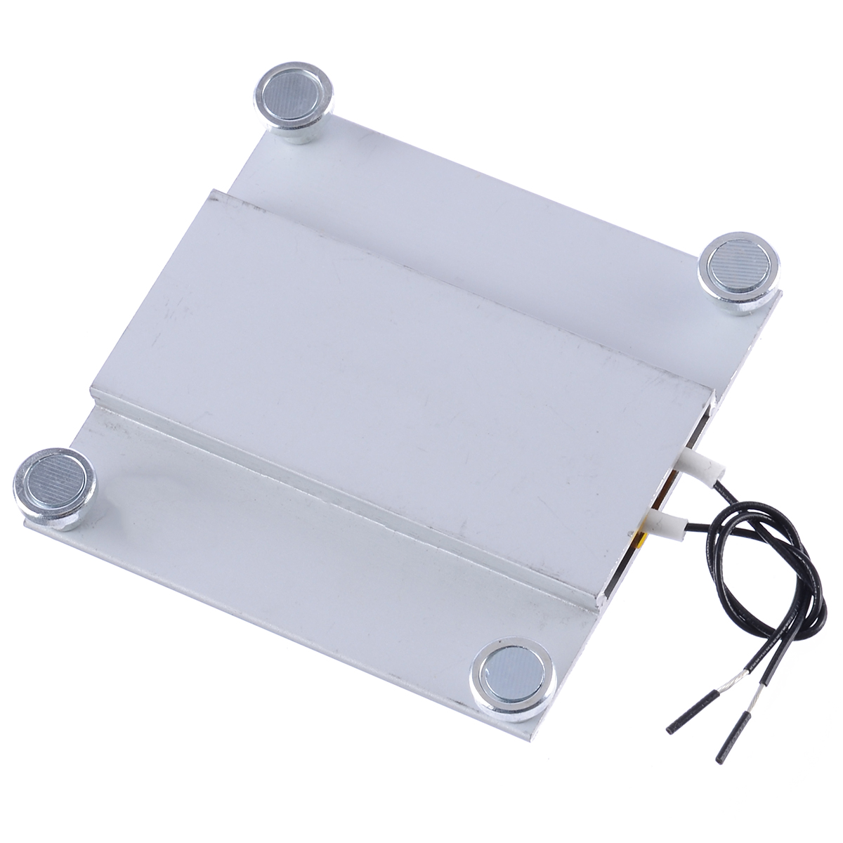 1pc New 220V PTC Thermostat Heating Plate Soldering Station For TV LED Backlight Temperature 260 Degrees Aluminum 68*70mm