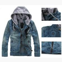 TANGNEST 2018 New Hot Selling Casual Fashion Men's Denim Jacket High Qality Comfortable Male Cowboy Jacket Size M-XXXL MWJ089