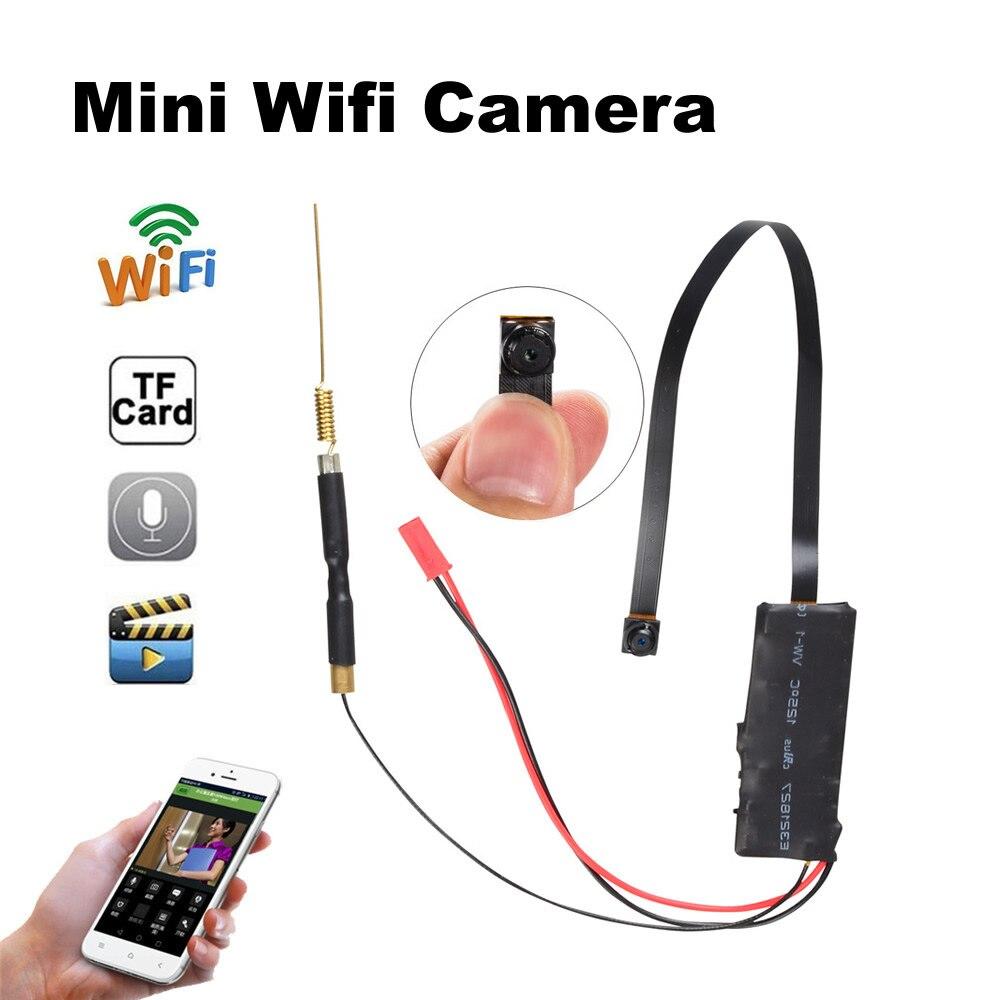 Wifi mini câmera 1080 p apoio tf cartão de gravação vídeo áudio sem fio câmera vigilância segurança nuvem remoto relógio