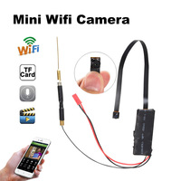 Wifi Mini Camera 1080P Support TF Card Audio Video Record Wireless Security Surveillance Camera Cloud Remote