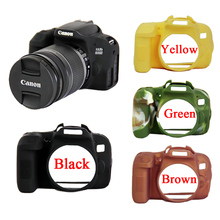 Nice Soft Camera Video Bag For Canon 800D Silicone Case Rubber Camera case Protective Body Cover Skin