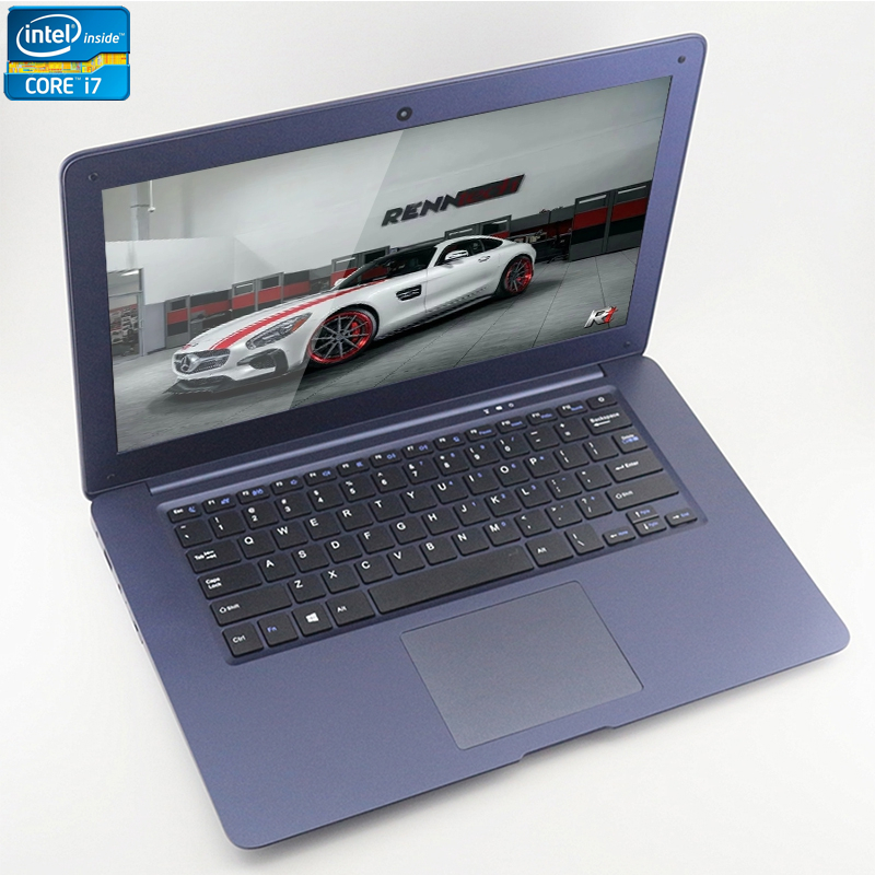 ZEUSLAP A8 Plus Intel Core i7 CPU 14inch 8GB 120GB 750GB Dual Disks Windows 7 10