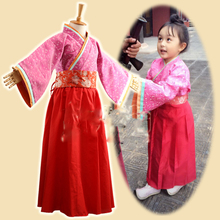 Childhood Mi Yue Pink Costume 2015 TV Play Legend of Mi Yue - Ancient Qin Empress Xuan Gorgeous Stage Costume for little girl original ao yue heating element for ao yue 768 850a 852 852a sold and station