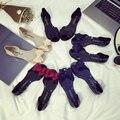 2016 Женщин Желе Сандалии Желе Обувь Летом Пляж Флип-Флоп Обувь Женщины Боути Slip On Квартиры Повседневная Обувь Женщин