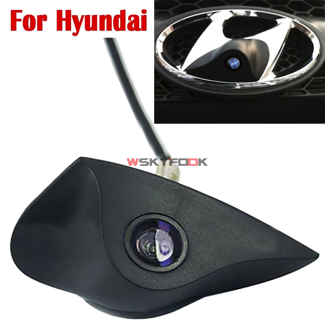 Prix pour 600L CCD de vision nocturne De Voiture auto Véhicule vue de Face Logo emblème Caméra pour Mazda Nissan Hyundai Marque frotn logo positif caméra