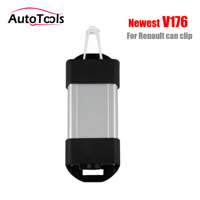 Car tool for Renault can clip V176 Newest auto car Diagnostic-tool Interface car obd2 code reader tool OBD2 interface newest car code readers