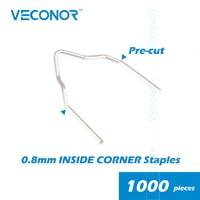 Pack Of 1000pcs 0 8mm Inside Corner Staples For Hot Stapler Plastic Welder Bumper Repair Machine