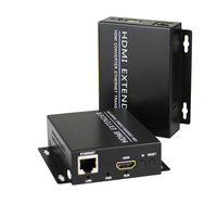 High Quality HDMI Extender Transmitter Receiver over Cat5e/Cat6 UTP Cable RJ45 LAN Ethernet up 120m, Support 1080P