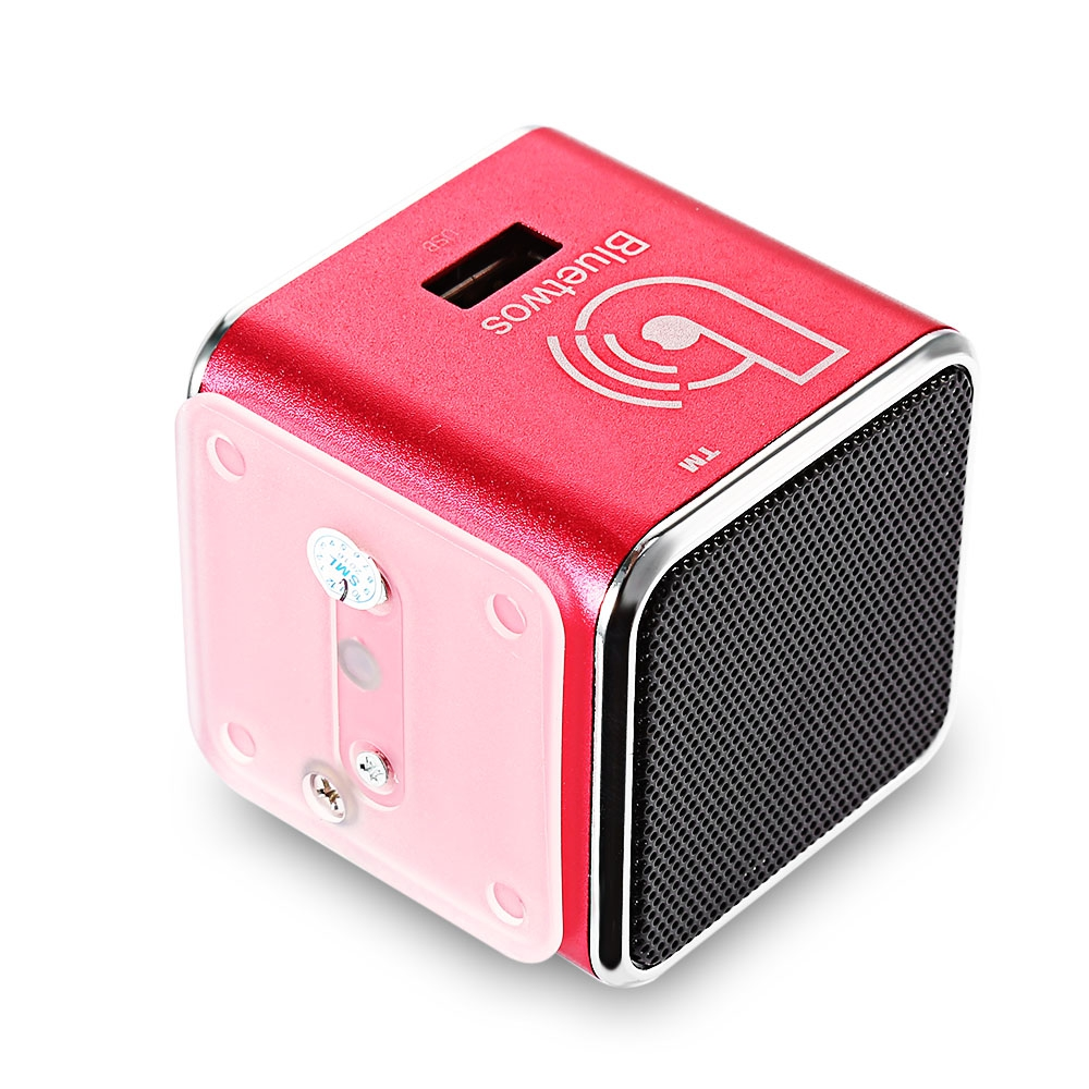 Unterhaltungselektronik Tragbare Lautsprecher Sago A8 Mini Lautsprecher Tragbare Wireless Bluetooth Lautsprecher Mode Metall Stereo Bass Subwoofer Freihändiger Mit Mic Für Home Musik