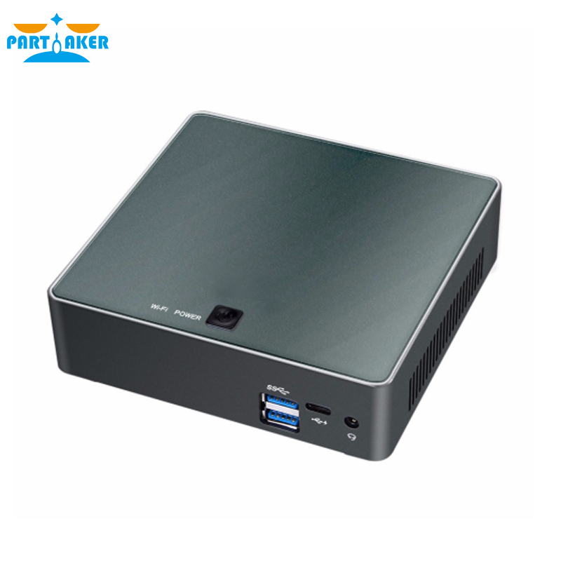 Image 3 - 8th Gen Intel Core i5 8250U Quad Core 8 Threads Nuc Mini PC UHD Graphics 620 DDR4 5G AC Wifi 4K HTPC Win 10 Partaker-in Mini PC from Computer & Office
