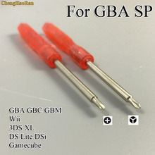 1set Disassemble Opening Repair Hand Tools Tri-wing Triangle Screwdriver for Wii N DS Lite DSL GBA SP D SI XL/LL SIXL