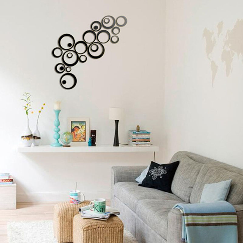Sticker Template Picture More Detailed Picture About Factory Price Fashion Home Decor Circles