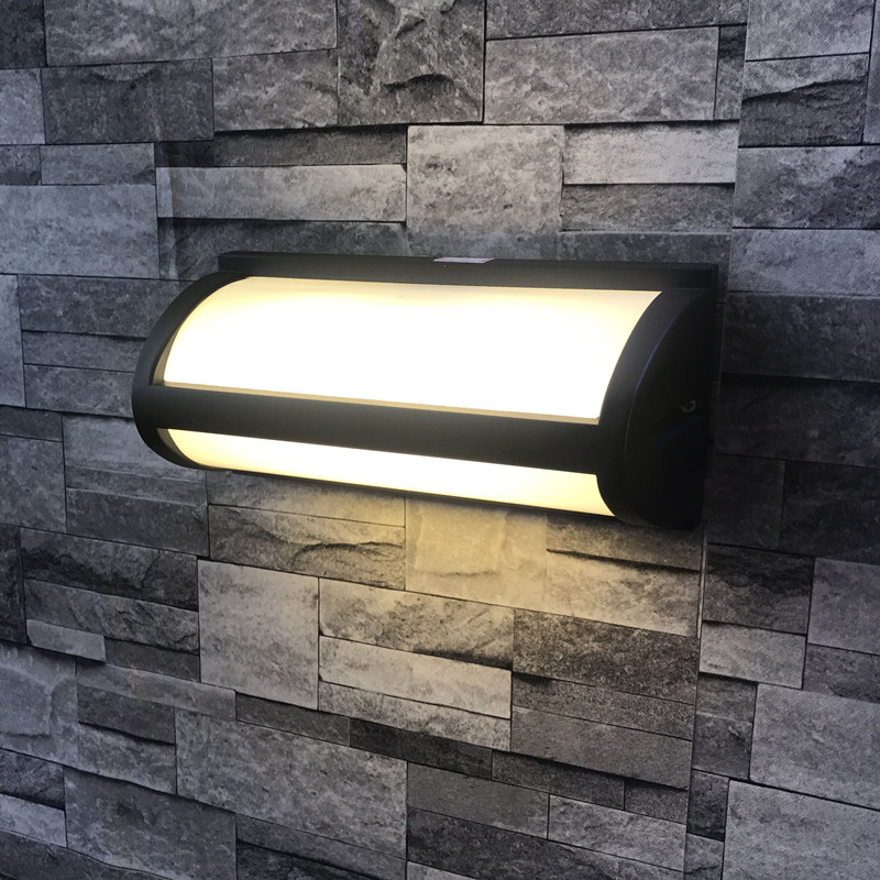 цена Creative modern LED Wall lamp waterproof gate garden lights Bedroom balcony balcony aisle lamps outdoor lighting