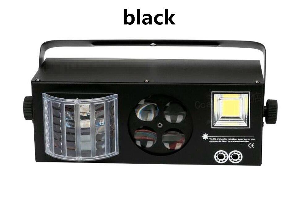 Светодиодный лазерный диско проектор, светильник, мини автоматическая вспышка, RGB светодиодный звуковой лазерный светильник, активированный для диско DJ, вечерние, звуковой светильник s, сценический светильник s