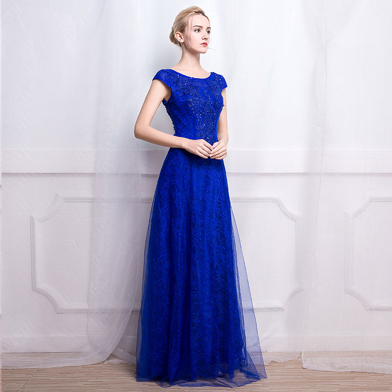 Backless maxi evening dress ukuran