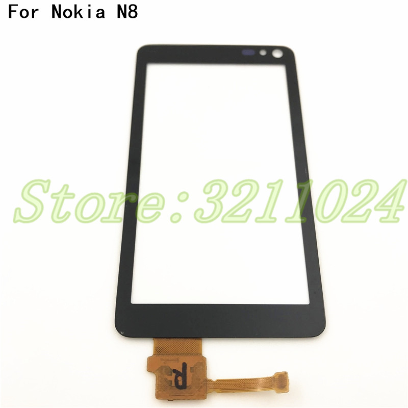 High Quality Touchscreen 3.5'' For Nokia N8 Touch Screen Digitizer Sensor Front Glass Lens Panel