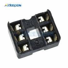 10pcs/Lot DIP IC Socket Adaptor PCB Solder Type DIP Socket 6PIN DIY