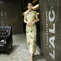 Improved Chinese Women's Evening Dress Ball Long Cheongsam Qipao
