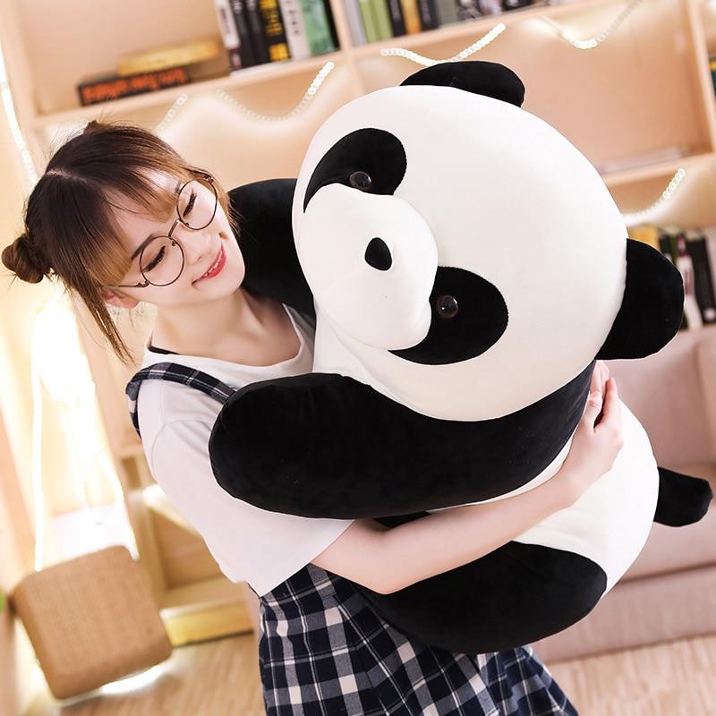 Cute Baby Big Giant Panda Bear Plush Stuffed Animal Doll Animals Toy Pillow Cartoon Kawaii Dolls Girls Gifts