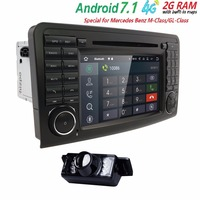 Android 5 1 1 CAR Audio DVD Player Gps FOR BENZ ML 320 ML 350 W164