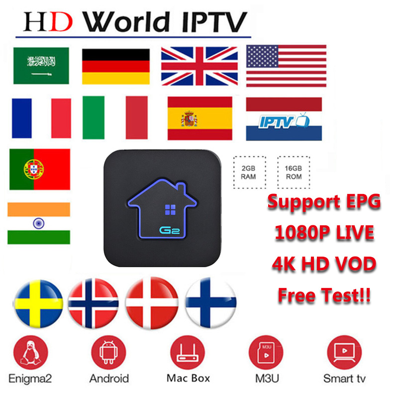 Spain IPTV Belgium IPTV Arabic IPTV Dutch IPTV Support Android m3u enigma2  mag250 TVIP 4000+Vod support GTmedia G2 G3 GTC TV Box