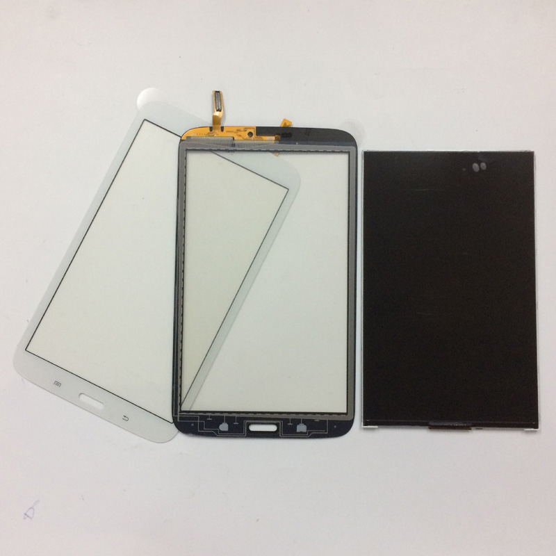 For Samsung Galaxy Tab 3 8.0 T311 T315 SM-T311 SM-T315 Touch Screen Digitizer Sensor Glass + LCD Display Panel Monitor free shipping touch screen with lcd display glass panel f501407vb f501407vd for china clone s5 i9600 sm g900f g900 smartphone