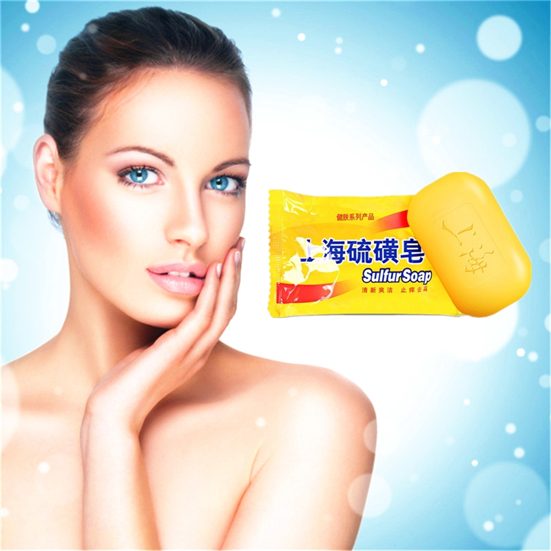 Treatment Skin Diseases Acne Treatment Soap To Clean The Skin Itching Sterilization Facial Soaps Anti-fungal Sulfur Soap
