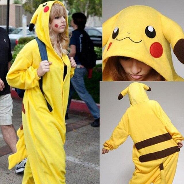 pikachu costume adult size men xl mascot for women cosplay pikachu animal pajamas one piece japan & pikachu costume adult size men xl mascot for women cosplay pikachu ...