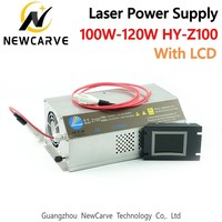100W 120W CO2 Laser Power Supply Monitor AC90 250v For Laser Engraving Cutting Machine HY Z100 NEWCARVE