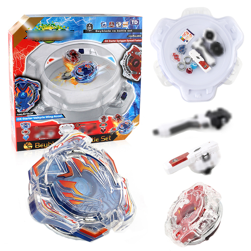 Beyblade Burst Bey Blade Toys Beyblade Arena Stadium Metal Funsion 4D Bayblade Set Spinning Top With