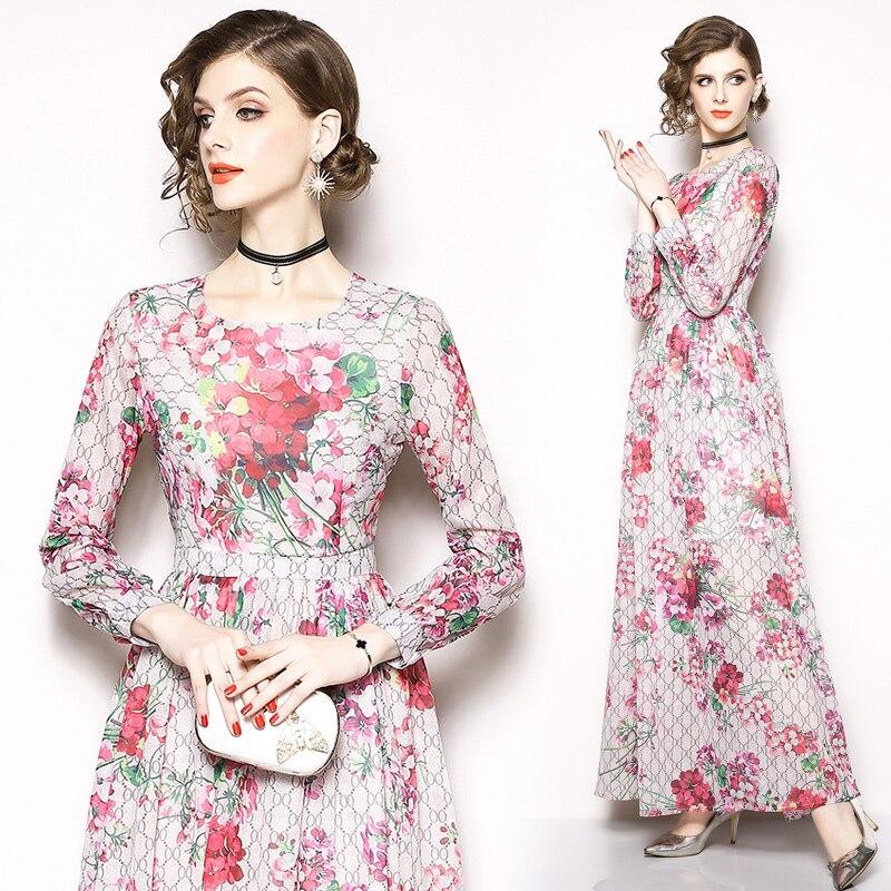 ece3c6b7e 2019 Outono nova vestido de roupas da moda das mulheres sexy cintura fina  de manga comprida