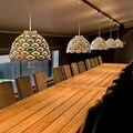 2016 новый дизайн  креативные алюминиевые подвесные светильники  современные короткие подвесные светильники для столовой  Светильники для д...