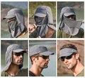 Уличная спортивная походная дышащая шляпа с козырьком  защита от УФ-лучей  защита для лица  защита от солнца  для рыбалки  шляпа с широкими по...