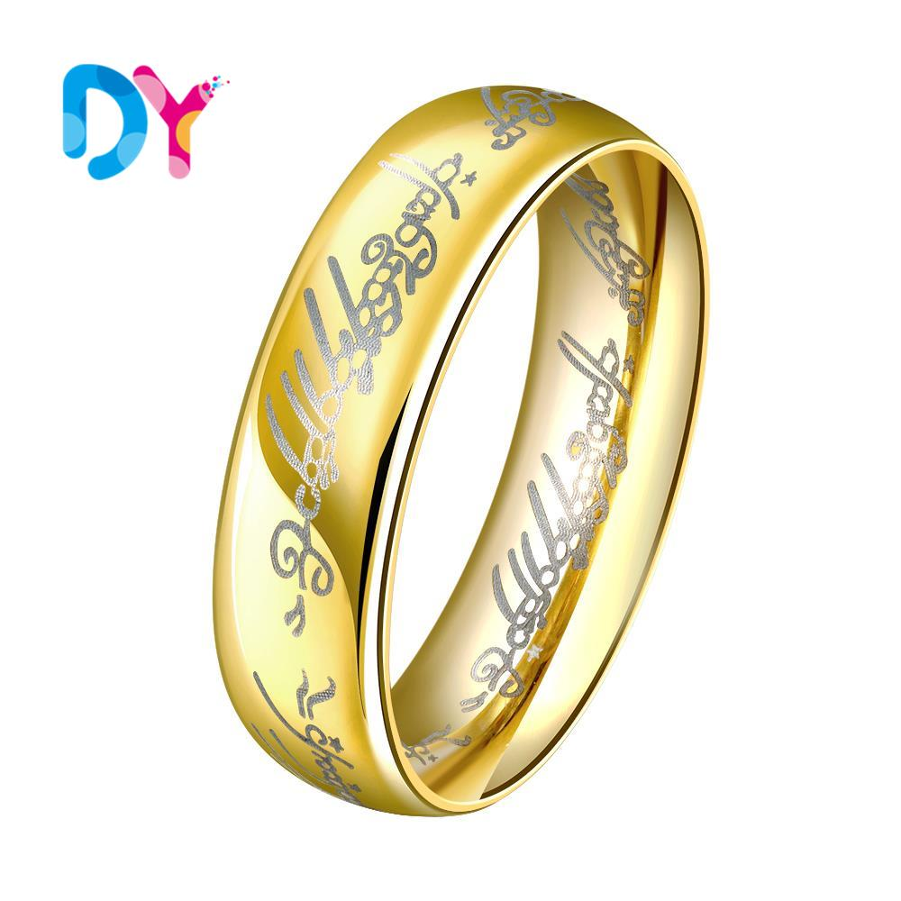 2016 Hot Sale New Gold color Rings For Men High Quality Finger ...
