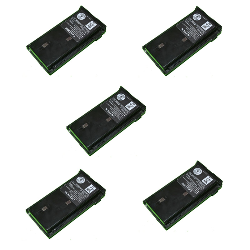 5PCS KNB-14 Battery Shell Case Pack for Kenwood <font><b>TK</b></font>-2107 <font><b>TK</b></font>-2107G <font><b>TK</b></font>-2100 <font><b>TK</b></font>-2102 <font><b>TK</b></font>-3102 <font><b>TK</b></font>-<font><b>3107</b></font> TK2102 TK2107 TK3107 Radio image