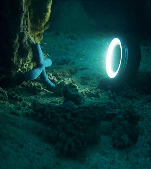 Weefine スキューバダイビングダイビング水中 60 メートル/195ft リングの光 1000 M67 ねじ山 1000 ルーメン防水ハウジング