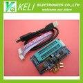 Бесплатная Доставка 1 шт./лот ПИК K150 ICSP Программист USB Автоматическое Программирование Разработка Микроконтроллера + USB ICSP кабель