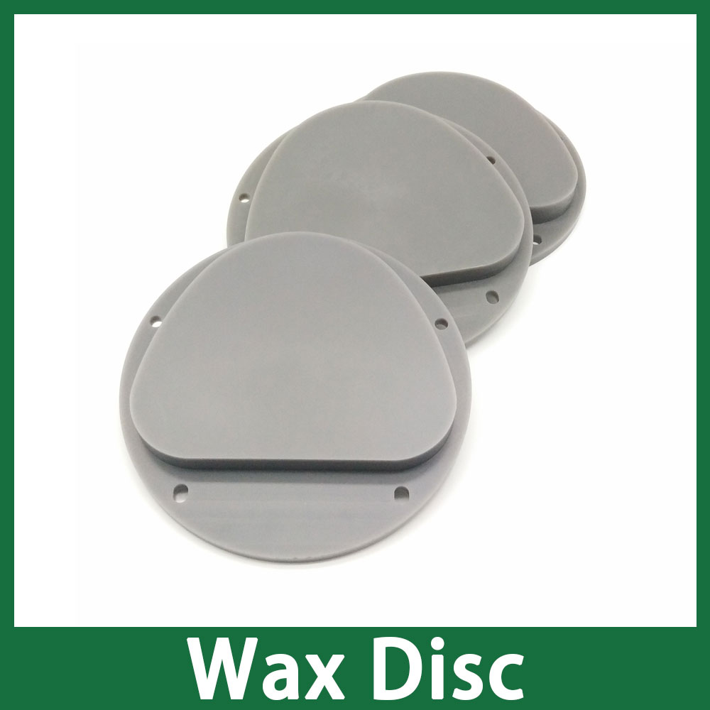 Grey Color Amann Girrbach Wax Disc 5pcs Available in 13mm 16mm 20mm