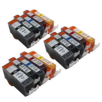PGI-520 PGI-520BK CLI 521 atramentu kartridż do canona PIXMA iP3600 ip4600 ip4700 MP540 MP550 MP560 MP620 MP630 MP640 drukarki tanie i dobre opinie BLOOM Pełna PGI-520BK CLI521BK C M Y Kompatybilny Wkład atramentowy Canon Inkjet