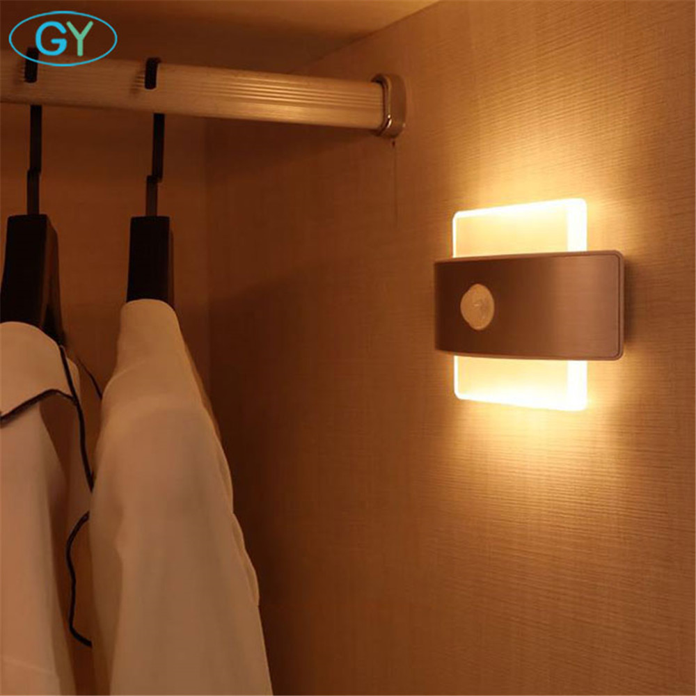 LED closet light, 2W LED PIR motion sens