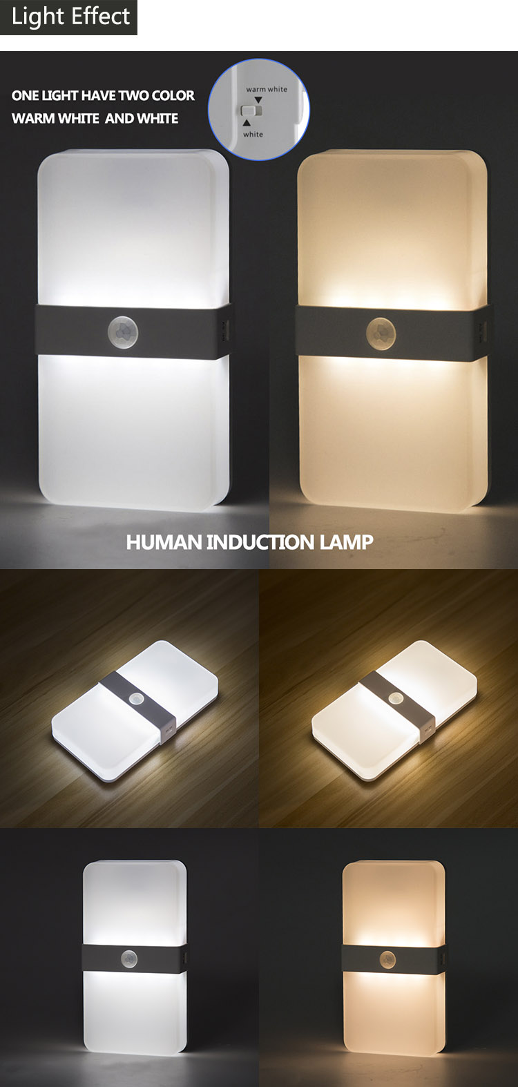 Image of: Auto On Off Motion Sensor Wall Light Closet Light Battery Powered Wireless Cabinet Ir Infrared Motion Detector Wall Lamp Led Indoor Wall Lamps Aliexpress