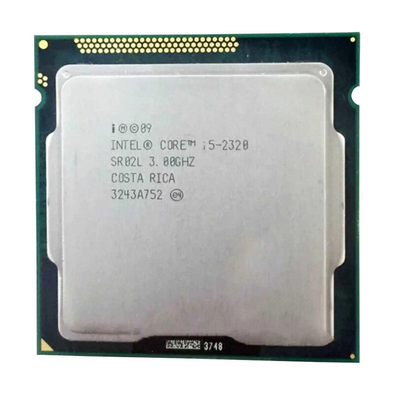 Intel core i5 2320/core2 i5 2320 CPU 3.3 GHz/6 mo L3 Cache/Quad-Core/TDP: 95 W/LGA1155 socket ont un i5 2300/2400