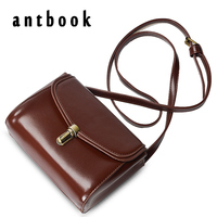ANTbook Women Handbag Vintage Women PU Leather Messenger Bag Fashion Lock Female Shoulder Bag Stlye Women