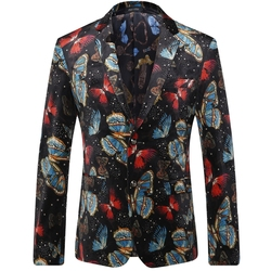 2016 autumn butterfly printed men blazer fashion casual designer brand hip hop party vintage blazer masculino.jpg 250x250